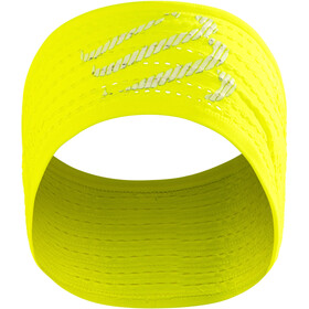 Compressport On/Off Hoofdband, fluo yellow
